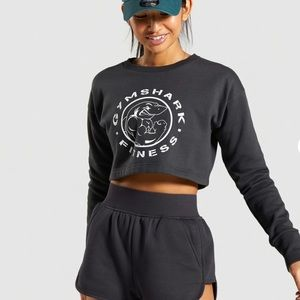 GymShark Legacy Cropped Sweater NWOT